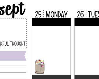 56 Happy Mail Planner Stickers