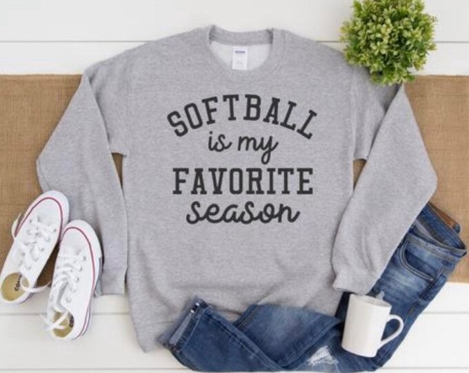 Softball is my favorite season