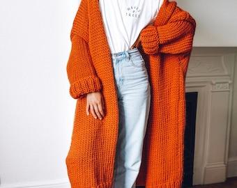 Knit Kit - Longline 'Ankle Grazer' Cardigan