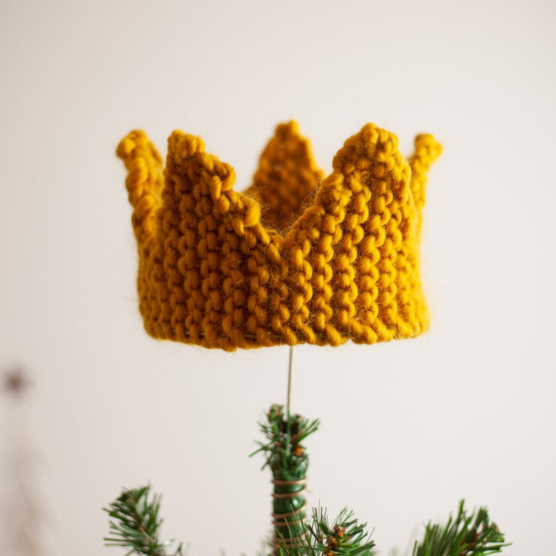 Crown Christmas Tree Topper image 0