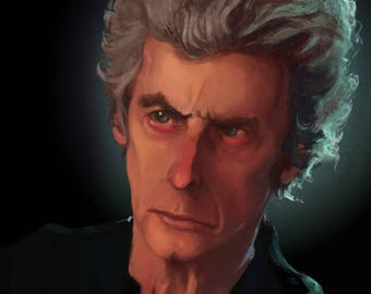 Doctor Who 11th Doctor | Peter Capaldi | Portrait