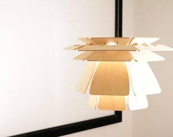 Scandinavia light design dxf file for milling / laser cutting