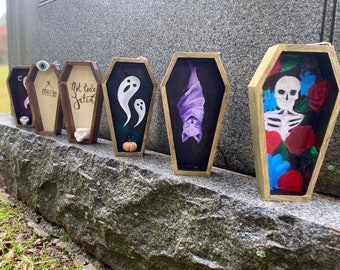 Mini Coffin Decor