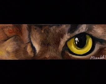 Cat Eye Painting series Oil Painting