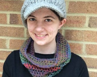 Neck warmer - Red, Green and Blue