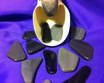 Sheen Obsidian Stone,Grounding Stone,Protective Stone,Unconscious Fears Stone,Connection Stone,rid of Traumas and Fears Stone,Passions Stone