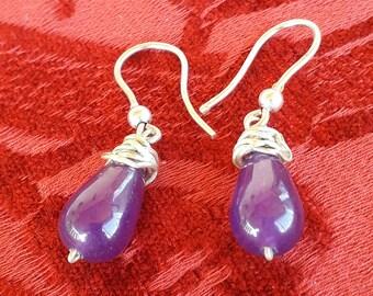 Quarzo Rosa Perle 8mm naturale pietre preziose gioielli pietre a grade g768