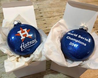 houston astros world series champions 2017 ornament houston astros ornament christmas ornament