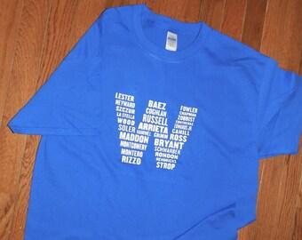 Chicago Cubs World Series 2016 Champions Tshirt