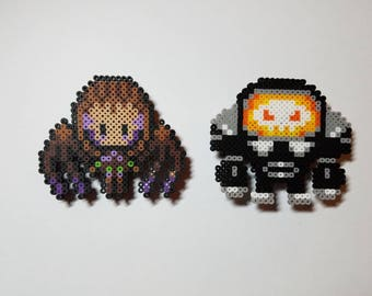 Starcraft Pixel Pins and Magnets