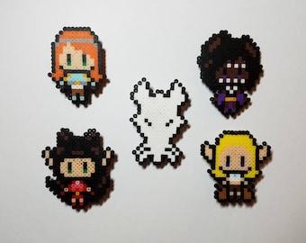 Rat Queens Pixel Pins & Magnets