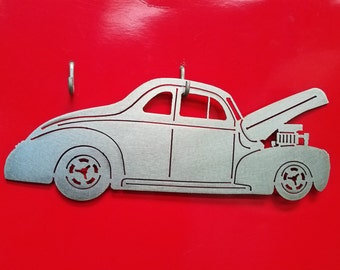 1940 Ford Coupe Metal Art
