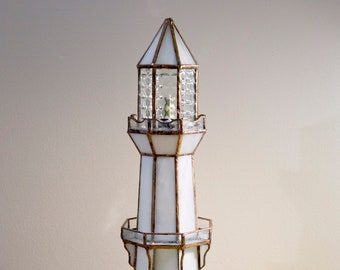 Stained Glass Lighthouses