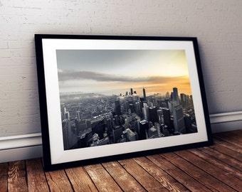 Skydeck Sunrise - Chicago, IL USA