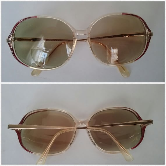 Vintage Adensco Glasses, Oversized Eyeglasses, Gee