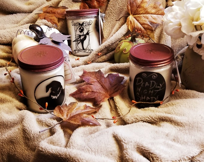 Nightmare Before Christmas 16oz Soy Candles