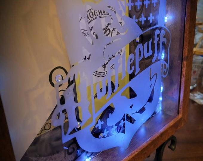 Hufflepuff/Harry Potter 9x9 Shadowbox