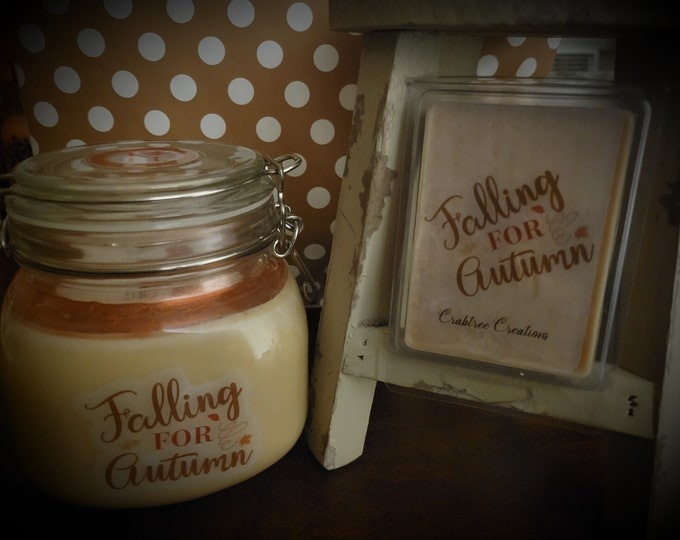 NEW!! Falling for Autumn 30oz Soy Candle