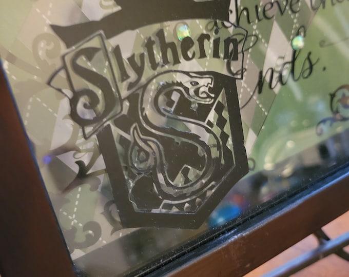 Slytherin/Harry Potter 9x9 Shadowbox