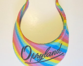 91995c2c20c Vintage 90 s Opryland Visor