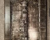 Sinister Saber Hilt *Original Sculpture