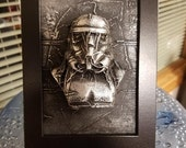 Stormtrooper In Carbonite *Original Sculpture