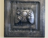 X Box Controller In Carbonite *Original Sculpture