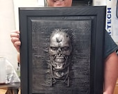T-800 in Carbonite *Original Sculpture