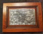 Maple Leaf In Carbonite *Original Sculpture