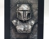 Boba Fett in Carbonite *Original Sculpture