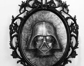 Goth Vader in Carbonite *Original Sculpture