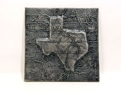 Texas in Carbonite *Original Sculpture