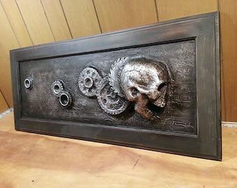 Gear Head *Original Sculpture