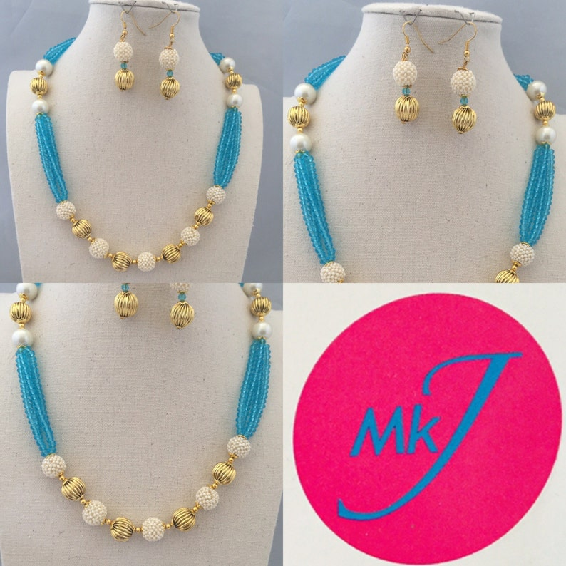 Necklace and Earrings image 0