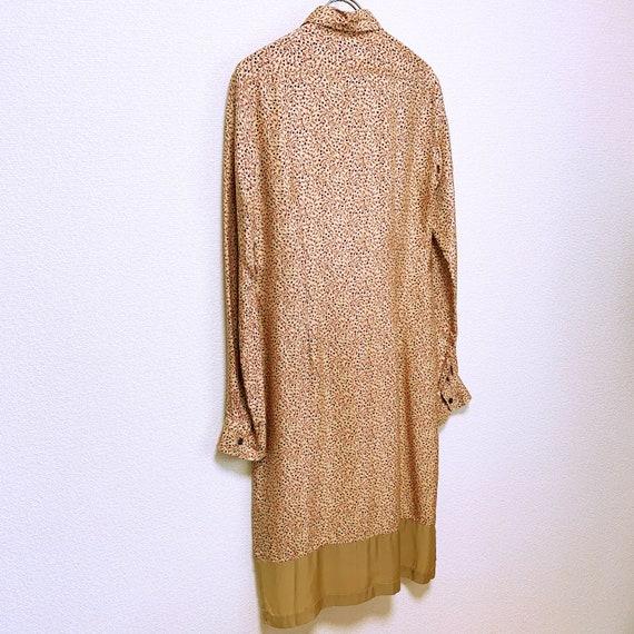 Dries Van Noten Total pattern silk long shirt dre… - image 4