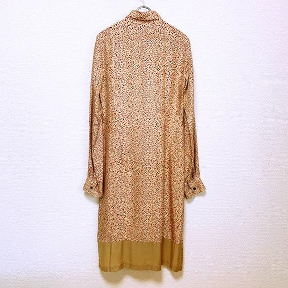 Dries Van Noten Total pattern silk long shirt dre… - image 2