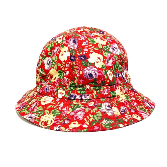 KENZO vintage Flower pattern cotton hat