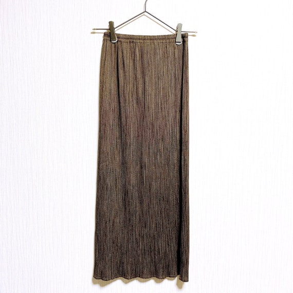 PLEATS PLEASE Issey Miyake Pleated long skirt