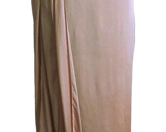 CHANEL Karl Lagerfeld 90's vintage chiffon slit skirt