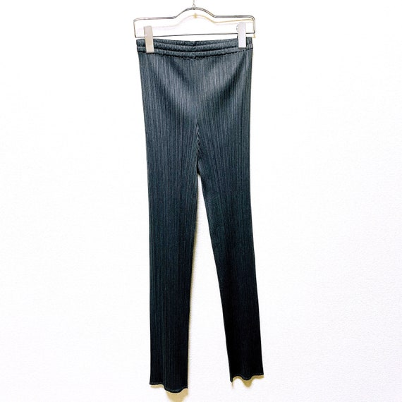 PLEATS PLEASE Issey Miyake Pleated gray color Pant