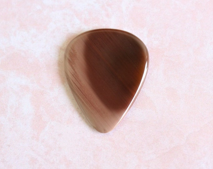 Royal Imperial Jasper Medium Stone guitar pick Item # 1166 - Gemstone Natural Stone Pick