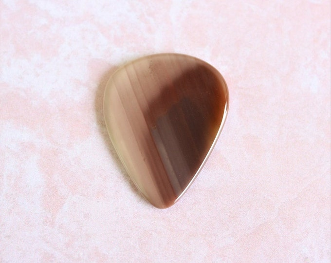 Royal Imperial Jasper Medium Gemstone Guitar Pick Item # 1170 - Gemstone Natural Stone Pick