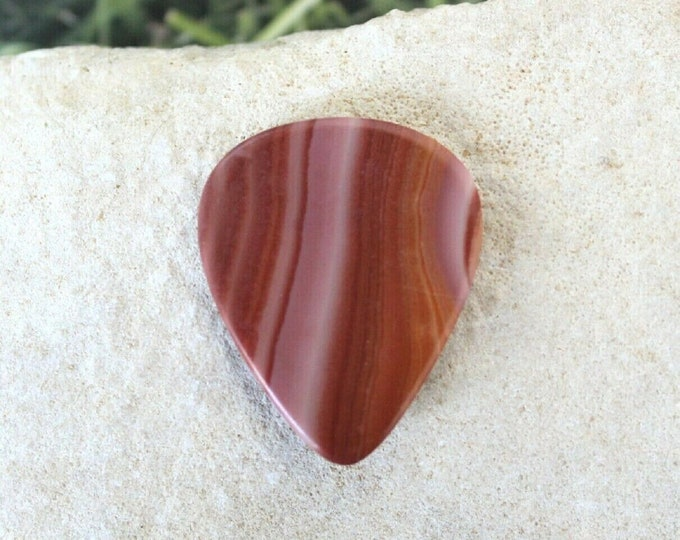 Wonder Stone Medium natural stone Guitar Pick  item # 1189 - Gemstone guitar pick
