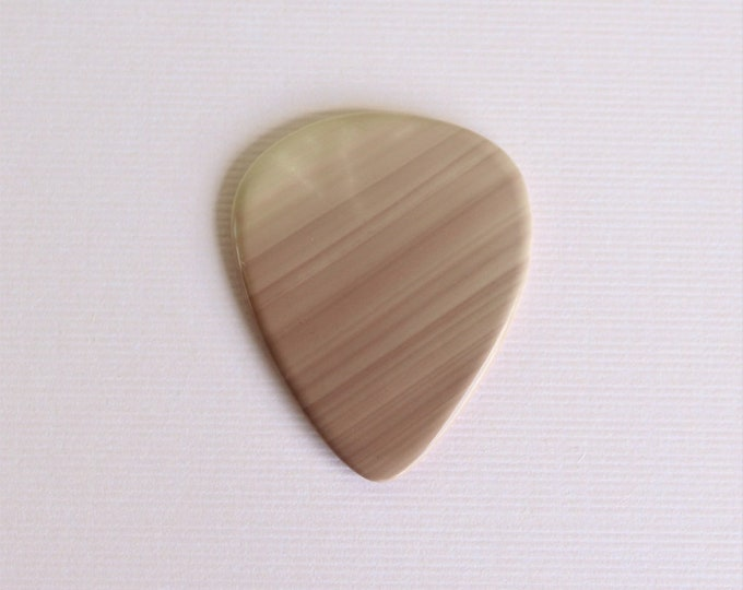 Imperial Jasper Thin Stone Guitar Pick Item # 1200 - Gemstone Natural Stone Pick