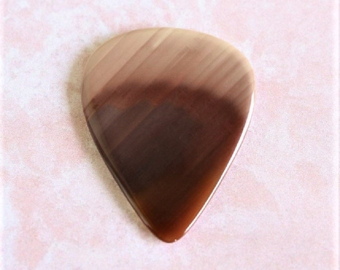 Royal Imperial Jasper Medium Gemstone Guitar pick Item # 1161