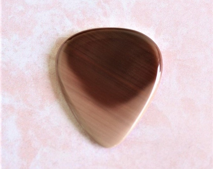 Royal Imperial Jasper Medium Gemstone guitar pick Item # 1169