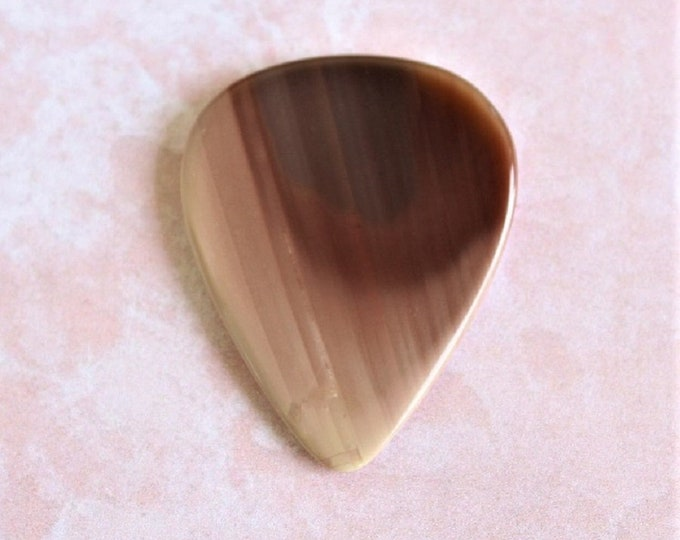 Royal Imperial Jasper Medium Gemstone Guitar Pick Item # 1164