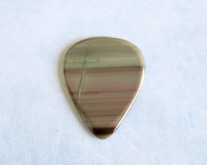 Royal Imperial Jasper Medium Gemstone Guitar Pick item # 1218