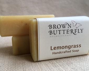 Handcrafted Lemongrass Soap