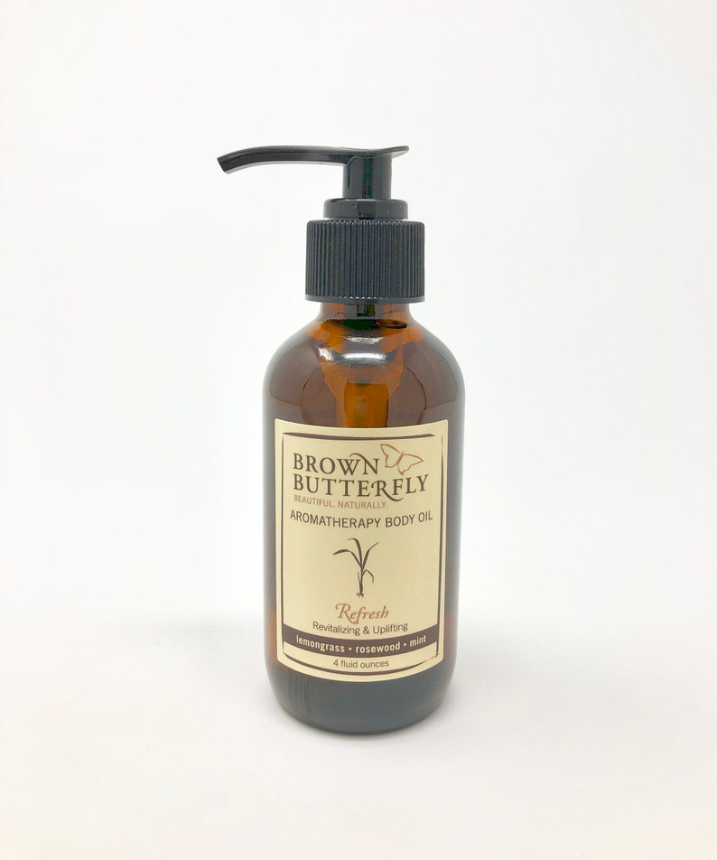 Refresh Aromatherapy Body Oil image 0